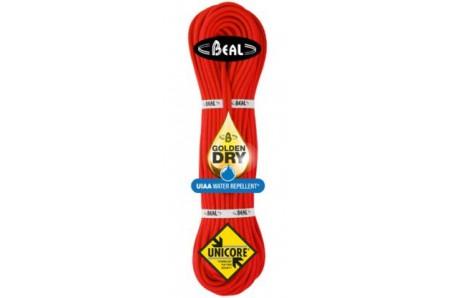 Lezecké vybavenie - BEAL Gully Unicore 7,3mm golden dry 50m