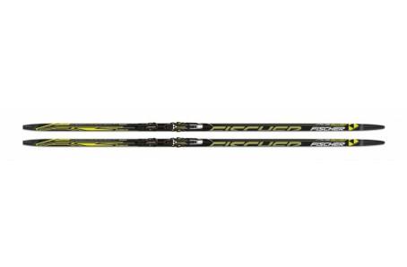 Bežecké lyžovanie - Fischer CARBONLITE ZERO MEDIUM + vázání XCELERATOR 2.0 CLASSIC 2014