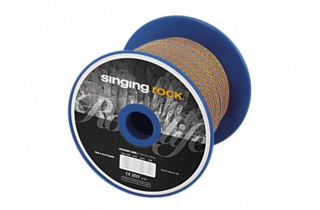 Lezecké vybavenie - Singing Rock Pomocná šňůra ø 6mm cívka černá