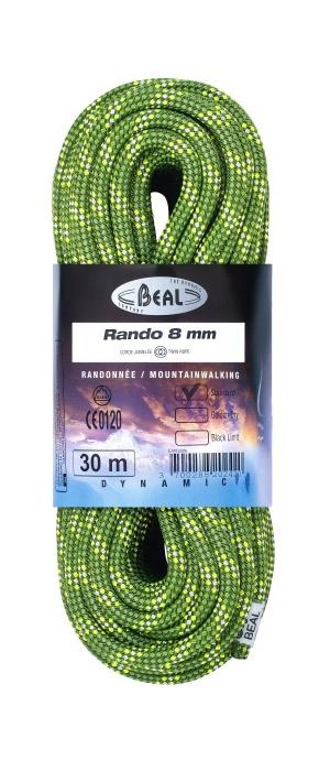 Lezecké vybavenie - BEAL Rando 8mm classic 48m