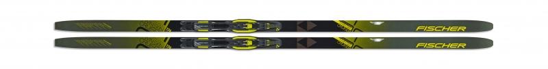 Bežecké lyžovanie - Fischer TWIN SKIN CRUISER EF + vázání XC TOUR STEP-IN IFP 2019/20