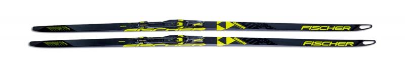 Bežecké lyžovanie - Fischer CARBONLITE SKATE H-PLUS STIFF IFP (bez vázání) 2018/19