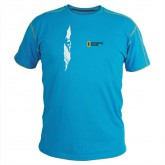 Singing Rock T-SHIRT BLUE CRACK