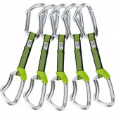 Climbing Technology 5x LIME SET NY 12cm SILVER