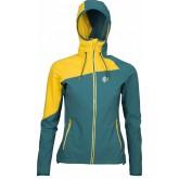 High Point Drift Lady Hoody Jacket pacific/yellow (výprodej)